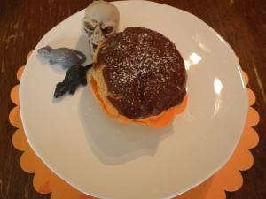 Orange crème puff