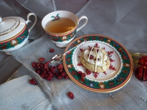 Morning tea with Cranberry Bliss cookie