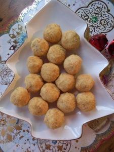 Christmas Platter of Cherry Balls