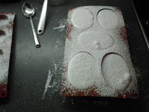 Vanilla Marshmallow in mold