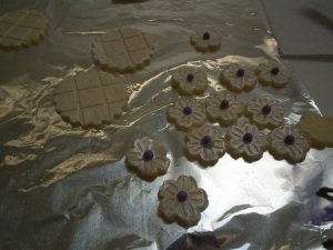 Adding violet balls