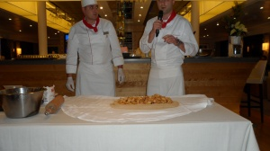 Apple Strudel Demonstration