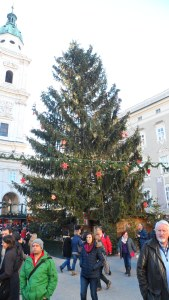 Salzburg centre of Christmas Market
